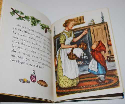 Little golden book little red riding hood 4