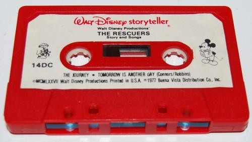 Cassettes disney 1