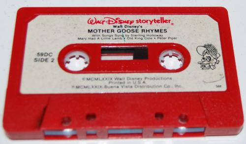 Cassettes disney 2