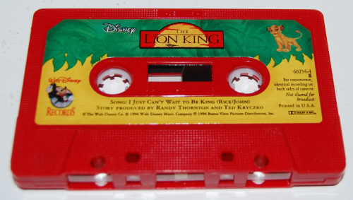 Cassettes disney