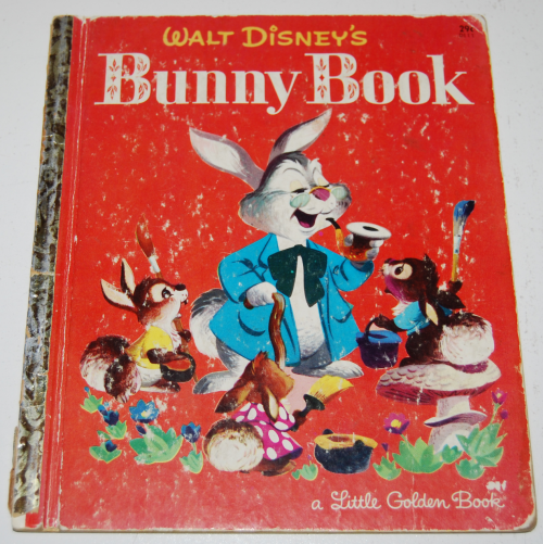 Little golden book disney bunny book