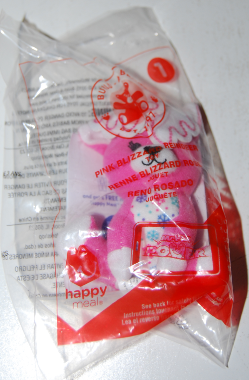 Happy meal toy build a bear 2