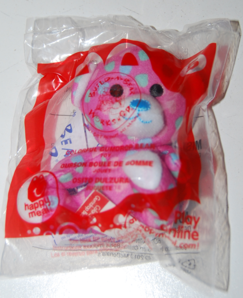 Happy meal toy build a bear 4