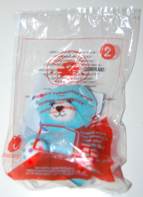 Happy meal toy build a bear 8