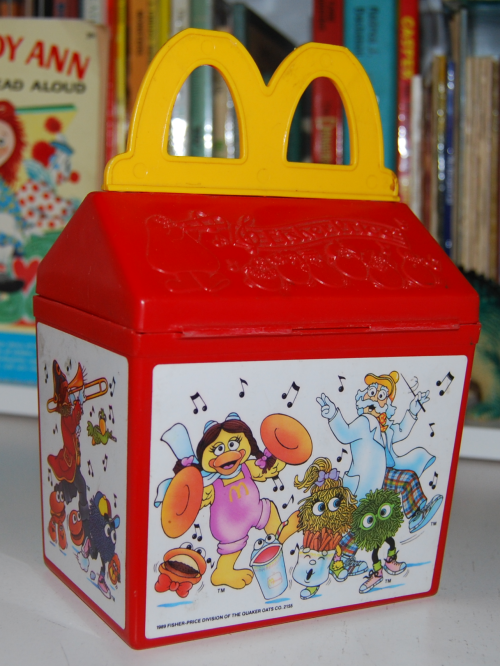 Mcd toy happy meal x