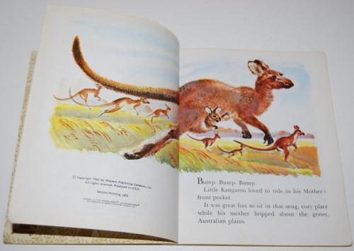 Little golden book hop little kangaroo 1