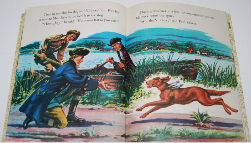 Little golden book disney paul revere 4