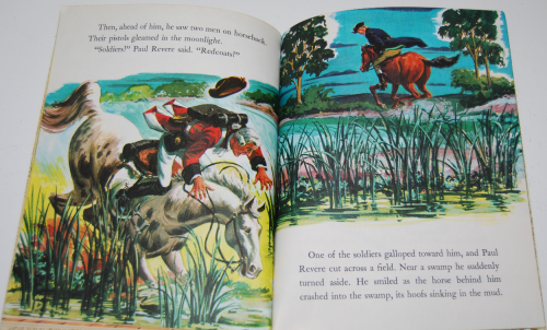 Little golden book disney paul revere 7