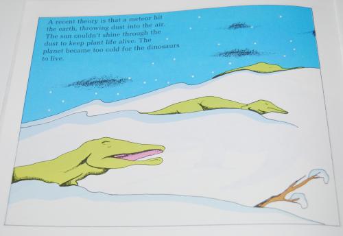 Scholastic dinosaurs 9