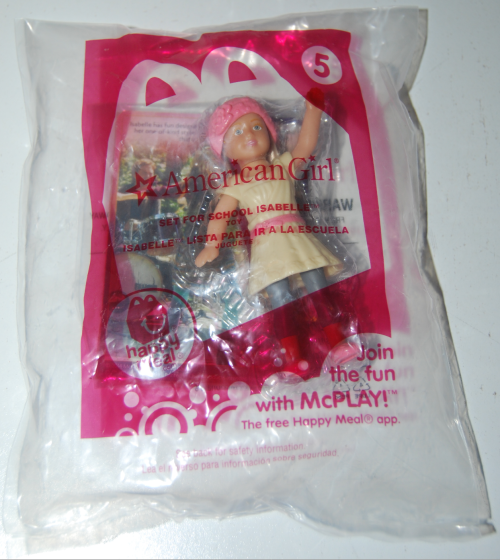 Happy meal toy american girls doll