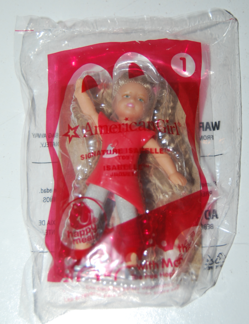 Happy meal toy american girls