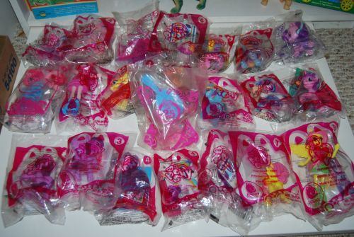 Happy meal toy my little pony