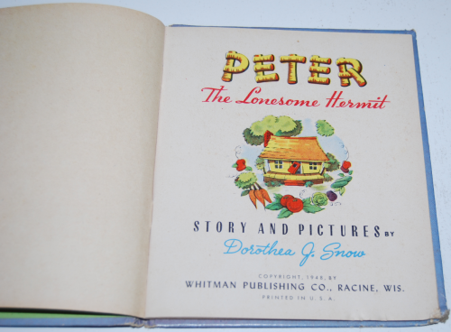 Peter the lonesome hermit 1