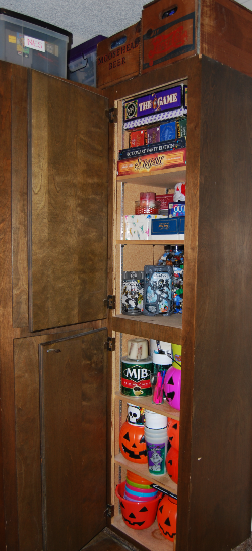 The game cupboard