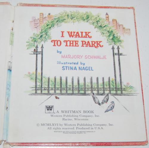 I walk to the park 1