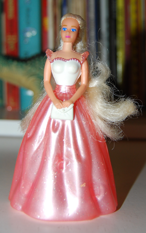 Happy meal toy barbie 9