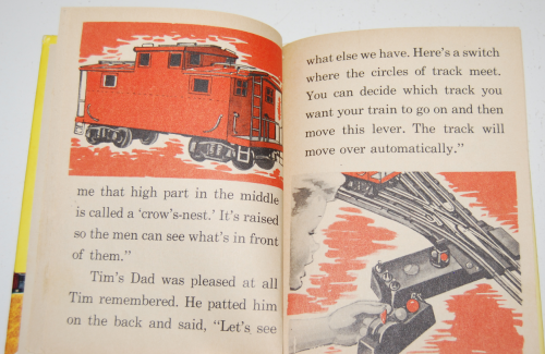 Tim & his train book 8