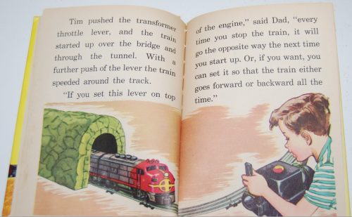 Tim & his train book 10