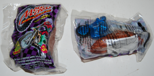 Wendy's kids meal moto cross prizes