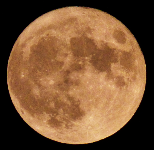Harvest full moon oct 1