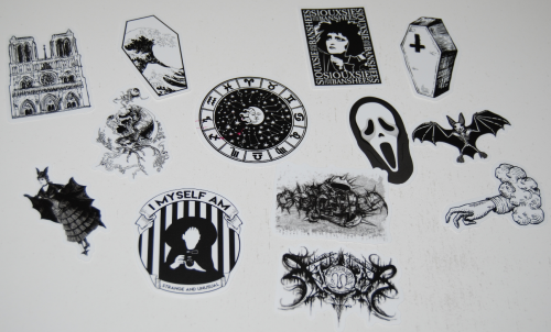 Goth stickers 5