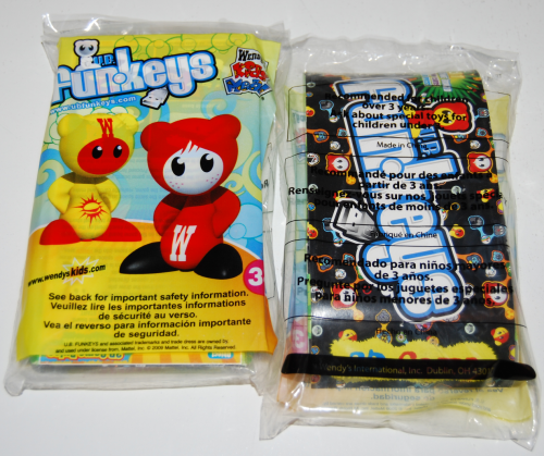 Wendy's kids meal ub funkeys games