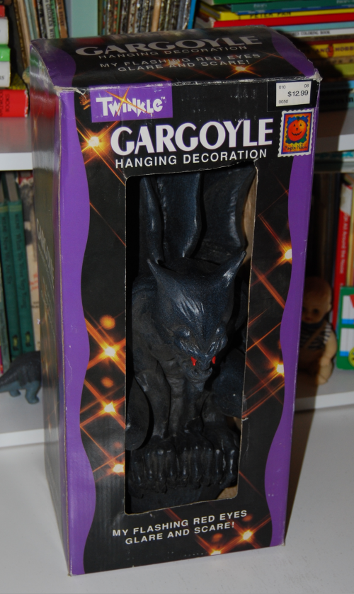 Halloween decor gargoyle
