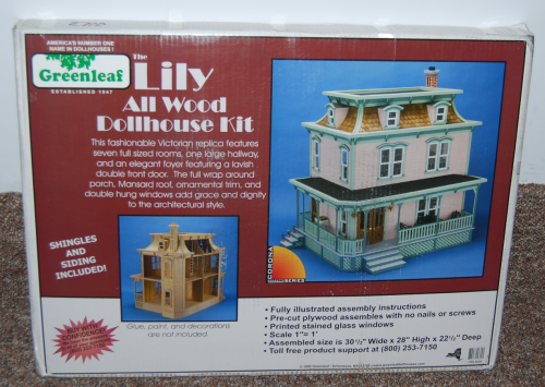 The lily dollhouse kit