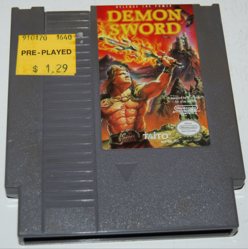 Nes demon sword