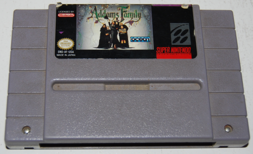 Snes addams family