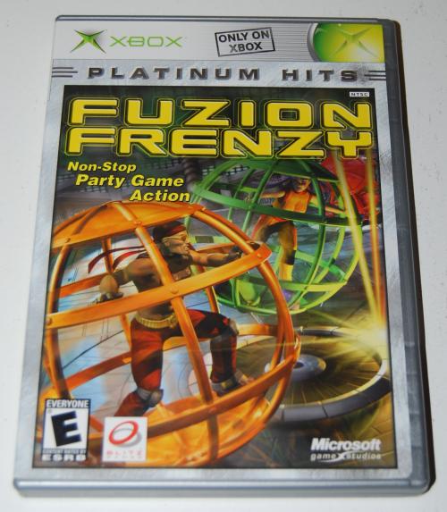 Xbox fuzion frenzy