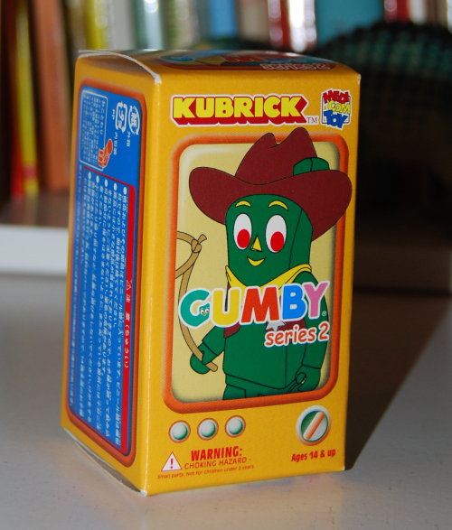 Gumby kubrick 2