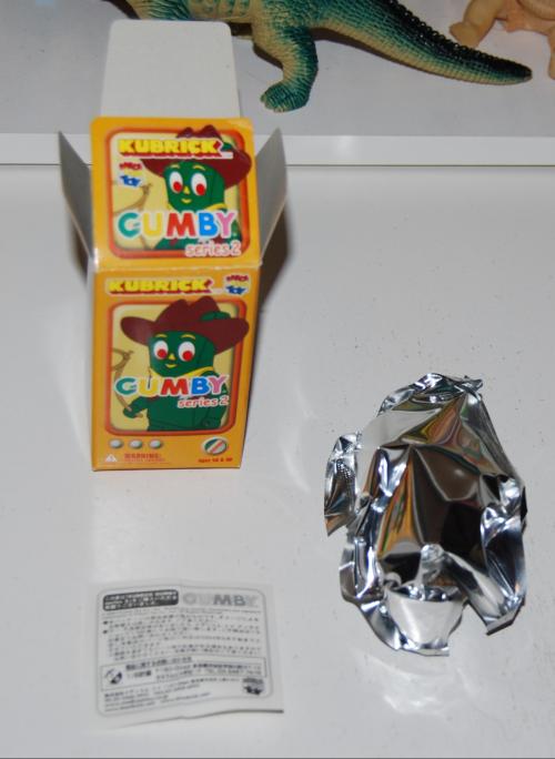Gumby kubrick 2 tara