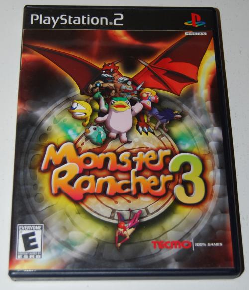 Ps2 monster rancher 3