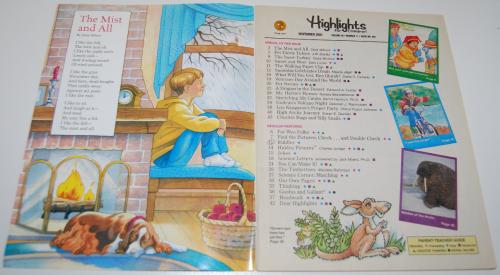 Highlights children nov 2001 1