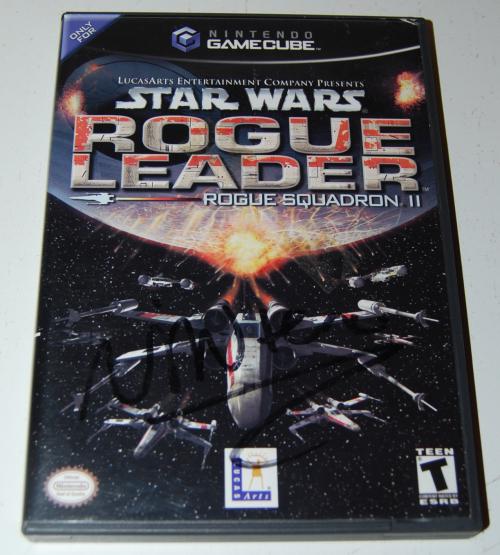 Nintendo gamecube star wars rogue leader