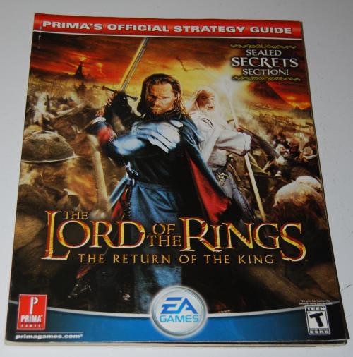 Lotr prima return of the king guide