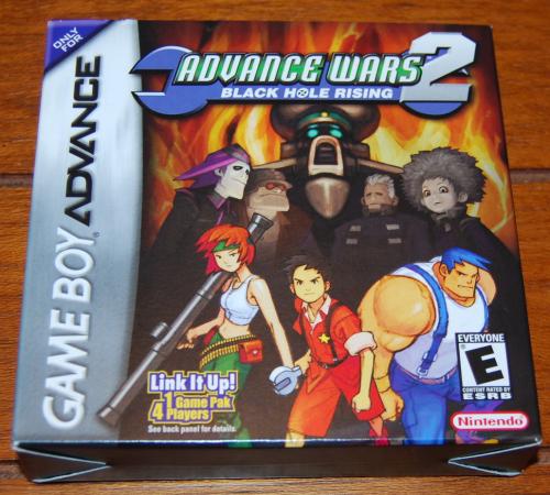 Gameboy advance wars 2