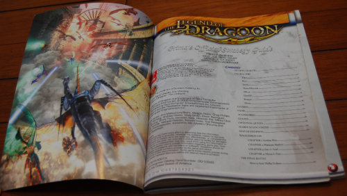 Legend of dragoon guide 1