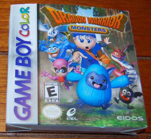 Dragon warrior monsters gb