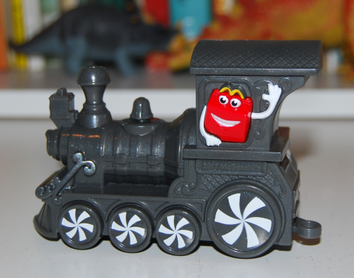 Happy meal train toy