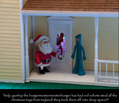 Gumby in christmas crisis 3