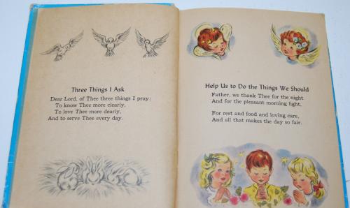 Prayers story hour book vintage 3