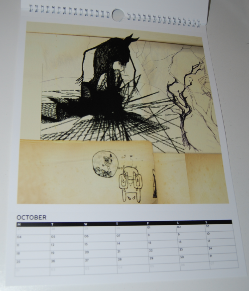 Radiohead calendar 4
