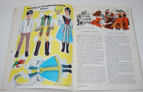 Golden magazine jan 1967 8