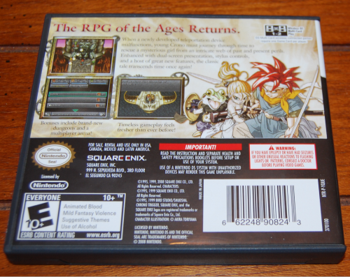 Ff chronotrigger ds game