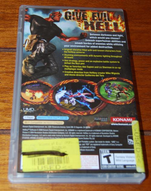 Hellboy psp game