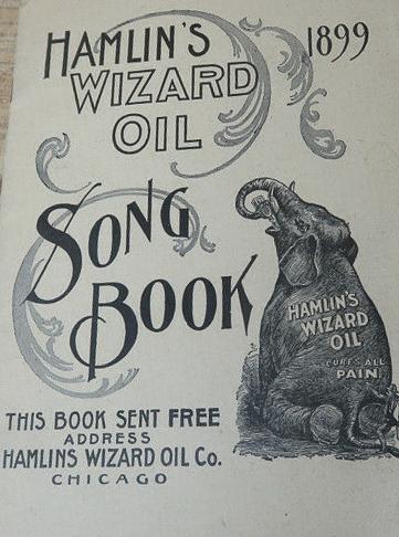 Hamlin wizard oil books x