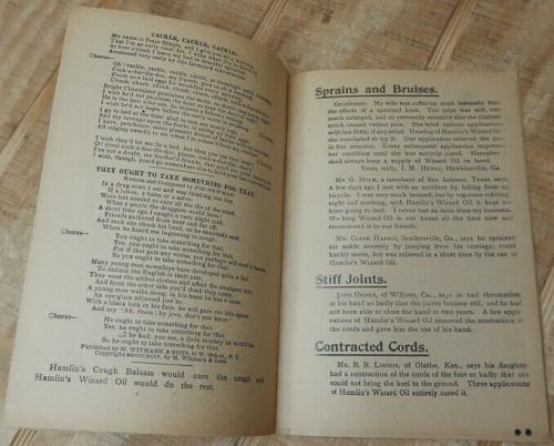 Hamlin wizard oil books xx