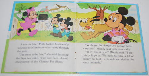 Mickey mouse pet show book 4
